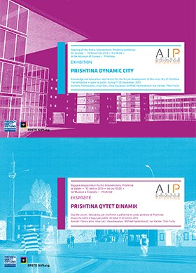 "Coming up: The exhibition ""PRISHTINA DYNAMIC CITY"""